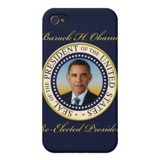 Commemorative President Barack Obama Re-Election Cases For iPhone 4