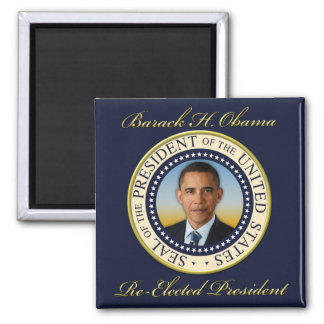 Commemorative President Barack Obama Re-Election Magnet