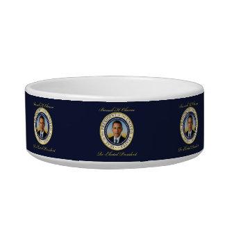 Commemorative President Barack Obama Re-Election Pet Food Bowls