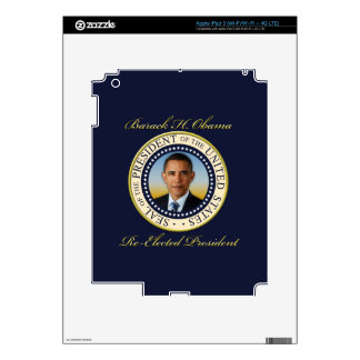 Commemorative President Barack Obama Re-Election iPad 3 Decal