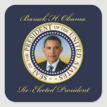 Commemorative President Barack Obama Re-Election Sticker