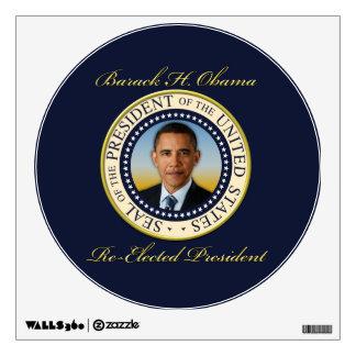 Commemorative President Barack Obama Re-Election Wall Sticker