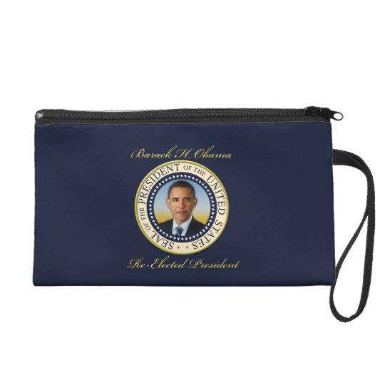 Commemorative President Barack Obama Re-Election Wristlet