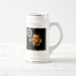 Commemorative President Obama Inauguration Beer Stein