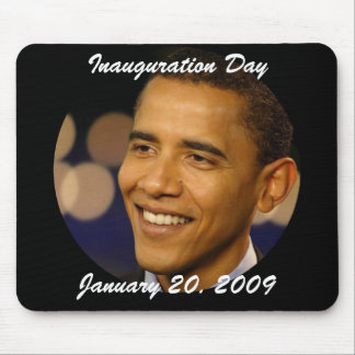 Commemorative President Obama Inauguration Mouse Pad