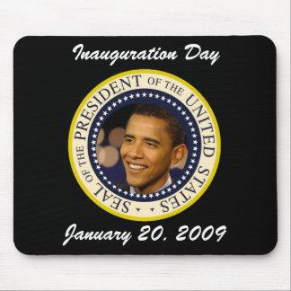 Commemorative President Obama Inauguration Mouse Pad