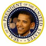 Commemorative President Obama Inauguration Statuette