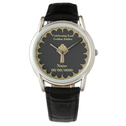 Commemorative Priest Anniversary Watch Customized