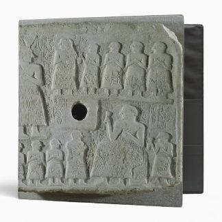 Commemorative relief binder
