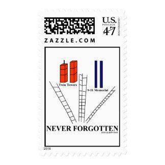 Commemorative Remember 9-11 Never Forgotten Stamp