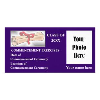 Commencement Announcement Photo Card