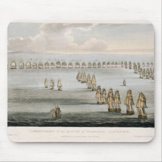 Commencement of the Battle of Trafalgar, 21st Octo Mouse Pad