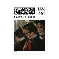 Commencement Postage Stamp
