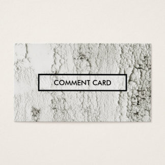 comment card painted chips