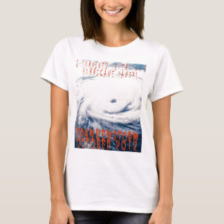 Commerative I survied Hurricane Sandy Frankenstorm T-Shirt