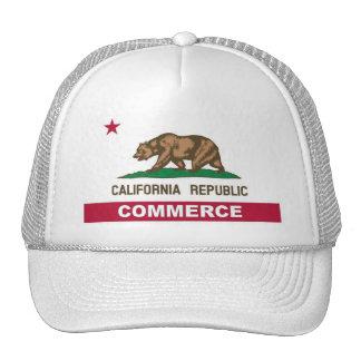 Commerce California Trucker Hat