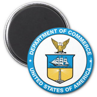 Commerce Department Fridge Magnet