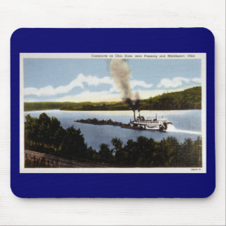 Commerce on Ohio River Mouse Pad