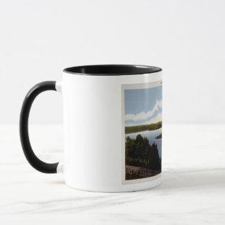 Commerce on Ohio River Mug