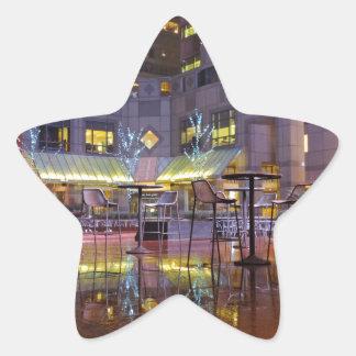 Commerce Square Philadelphia at Night Star Sticker