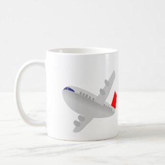 Commercial Airliner Coffee Mug