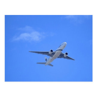 Commercial Airliner Postcard
