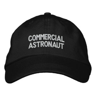 Commercial Astronaut Baseball Cap