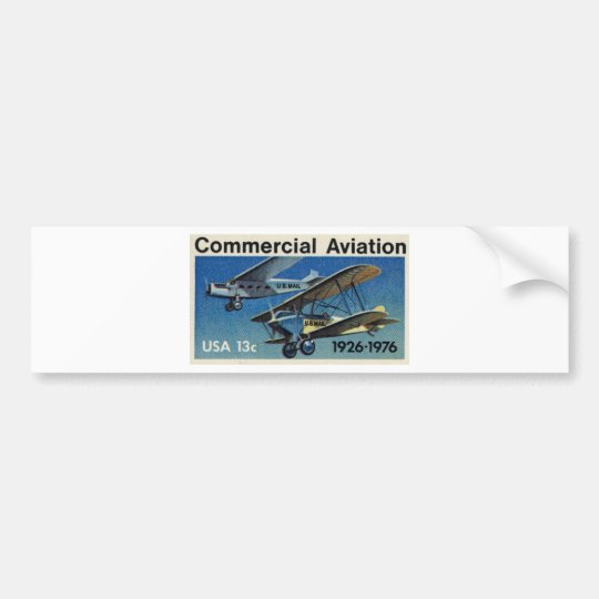 Commercial Aviation 02 Bumper Sticker