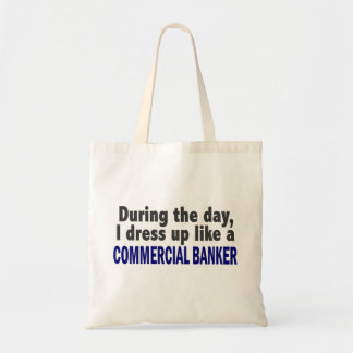 Commercial Banker During The Day Canvas Bags
