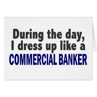 Commercial Banker During The Day Cards