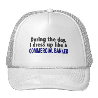 Commercial Banker During The Day Trucker Hats