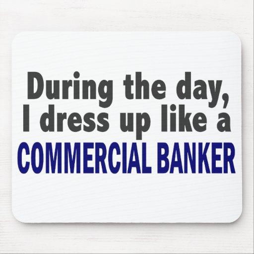 Commercial Banker During The Day Mouse Pad