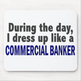 Commercial Banker During The Day Mousepads