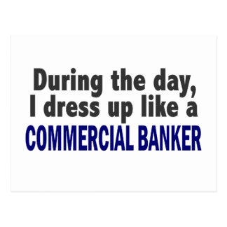 Commercial Banker During The Day Post Card