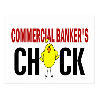 Commercial Banker's  Chick Postcard