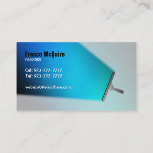Commercial cleaning business cards templates zazzle commercial cleaner business cards colourmoves