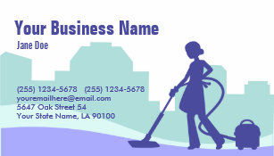 Commercial cleaning business cards templates zazzle commercial cleaning business card colourmoves