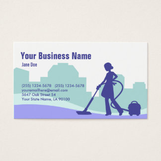 Commercial Cleaning Business Cards & Templates | Zazzle