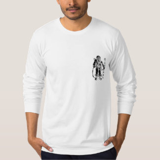 Commercial Diver w/Asian Script and Back Logo Shirt