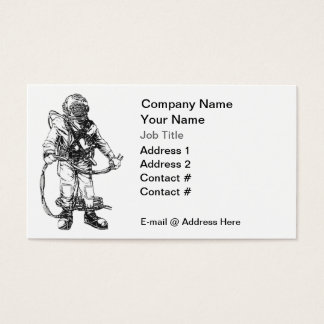 Commercial Diving Business Card