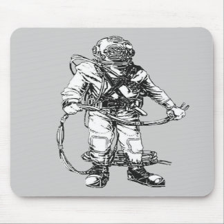 Commercial Diving Gear Mousepad