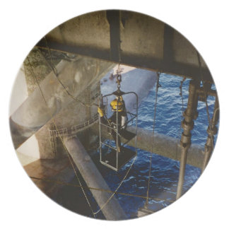 Commercial diving plate- air dive melamine plate