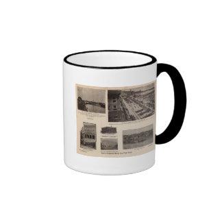 Commercial energy along Puget Sound Ringer Coffee Mug