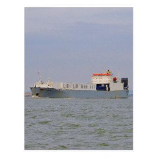 Commercial Ferry Undine Postcard