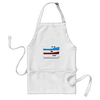 Commercial Fishing Boats Adult Apron