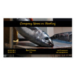 Commercial fishing harbor tuna CUSTOMIZE Business Card Template
