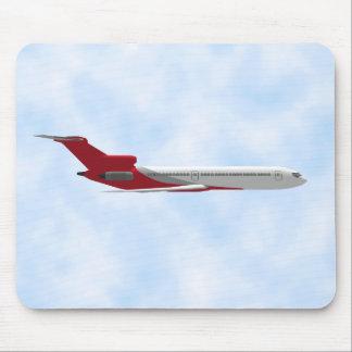 Commercial Jet Airplane: 3D Model: Mousepad