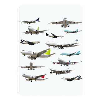 Commercial Jet Variety Pattern Card