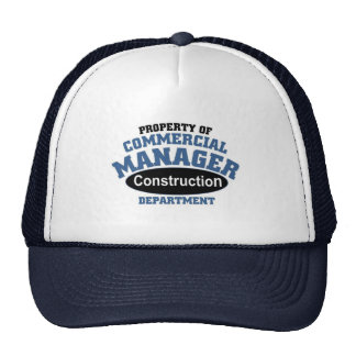 Commercial Manager Trucker Hat