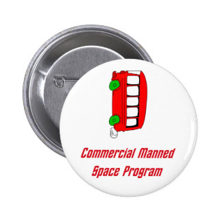 Commercial Manned Space Program Pins